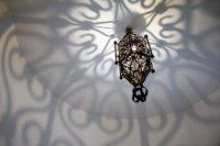 lampka w salonie