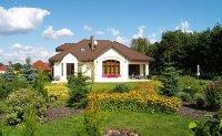 Ogród wokół domu