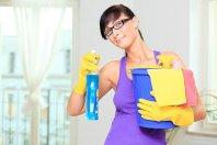 środki do czyszczenia, kobieta